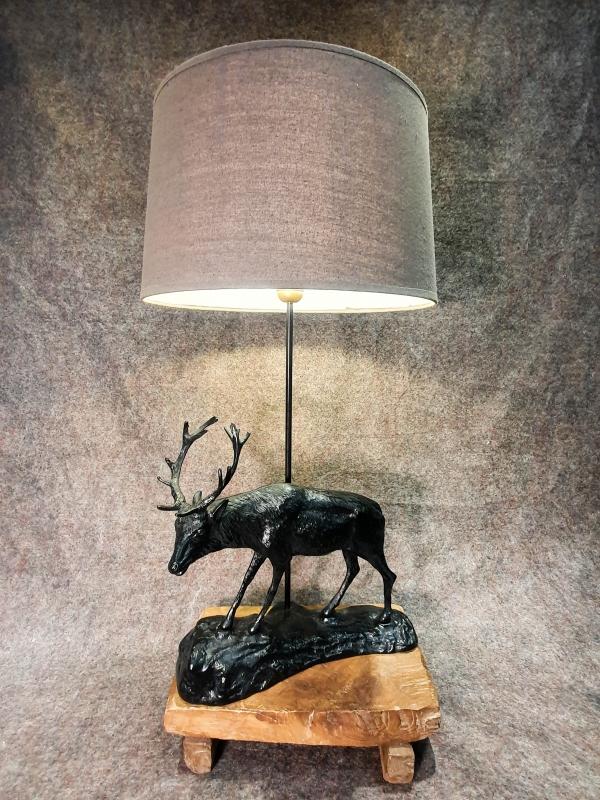 Lampe Hirsch gross