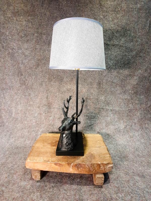Lampe Hirschkopf