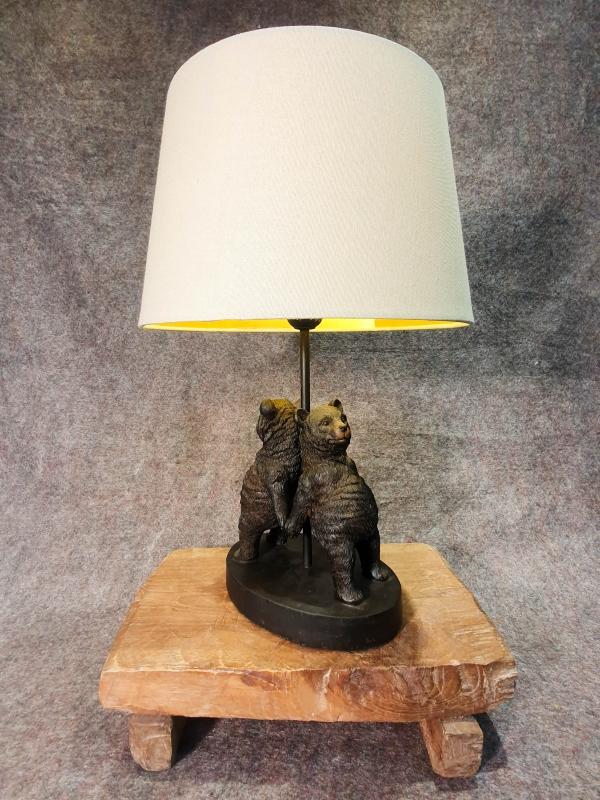 Lampe Bären Paar