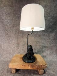 Lampe sizender Fuchs
