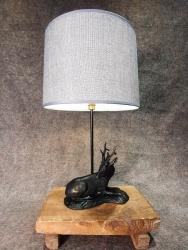 Lampe Hirsch liegend